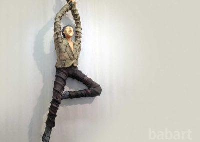 Akrobat | Skulptur in Mischtechnik