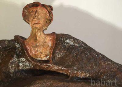 Biblioteca | Skulptur in Mischtechnik
