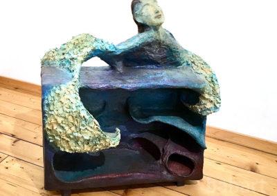 Angelo | Skulptur in Mischtechnik