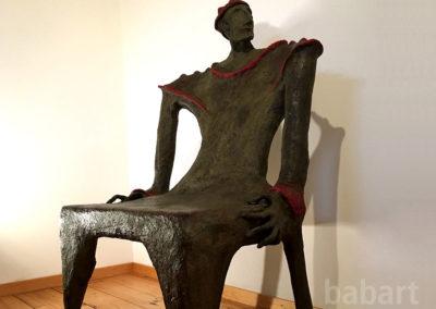 Governo | Skulptur in Mischtechnik