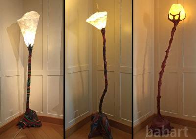 Lampen | Skulptur in Mischtechnik