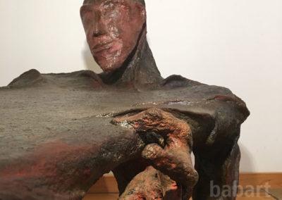 Dono | Tisch und Skulptur in Mischtechnik