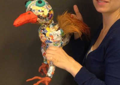 Papiermaché Workshop | Comic-Vogel