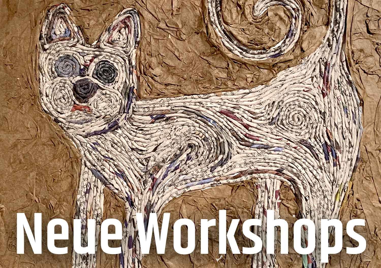 Papiermaché-Workshops Herbst 2019