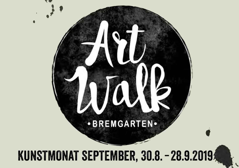 Ein WALK der kunstvollen ART in Bremgarten